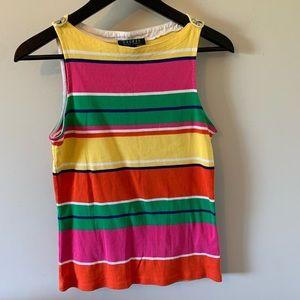 Ralph Lauren / Striped / Colourful / Tank